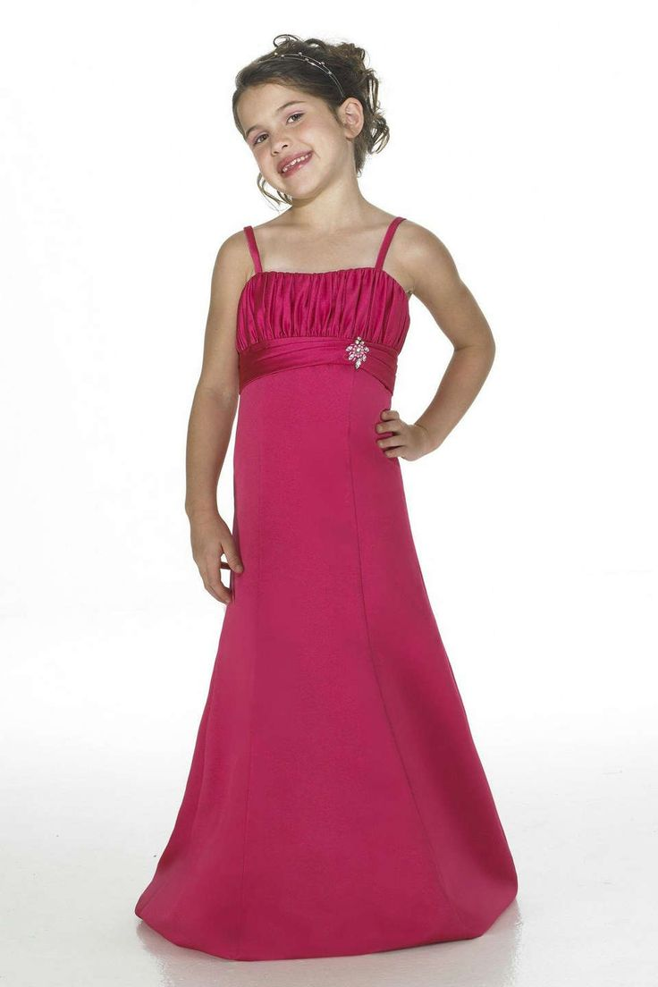 42 best flower girl dresses images on pinterest girls dresses hot pink floor length column spaghetti strap junior bridesmaids dresses with sequins ombrellifo Gallery