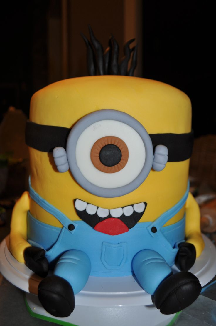 Minion Birthday Cake Melbourne