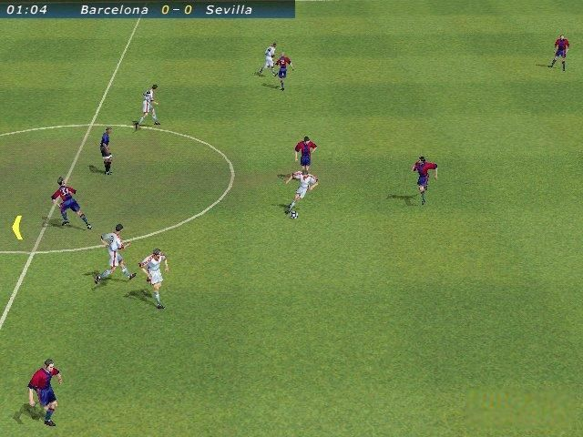 EA FIFA 2000 Video game Screenshot