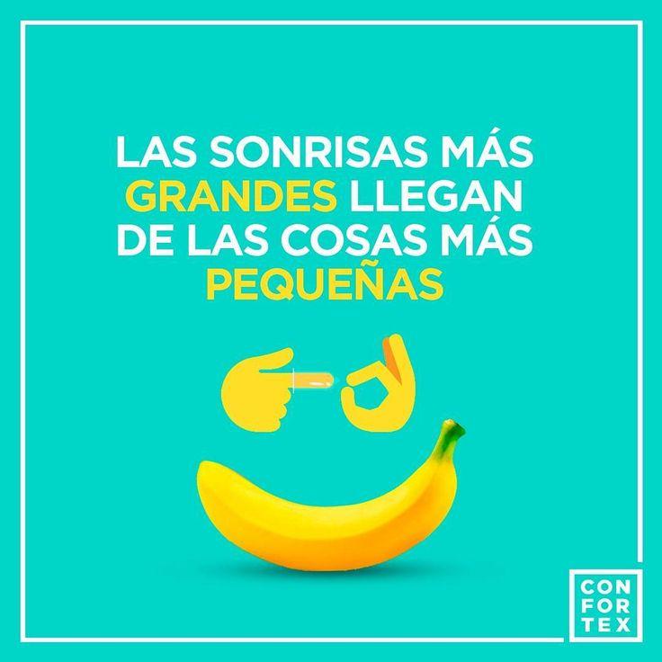 El tamaño de tu sonrisa es el único que nos importa...   #sonrisa #felicidad #feliz #grande #pequeño #smile #feliz #happy #happyme #big #small #size #vida #alegria #besos #besitos #sueños #sueño #muack #grandes #pequeños #life #lifestyle #confortexcondom #confortex #condones #condoms #safesex #sexoseguro #hot #cool #art #color #love #amor #lovers #happy #instagood #feliz #insta #beso #besos #kiss #instragram #frase #instalove #enjoy #divertido