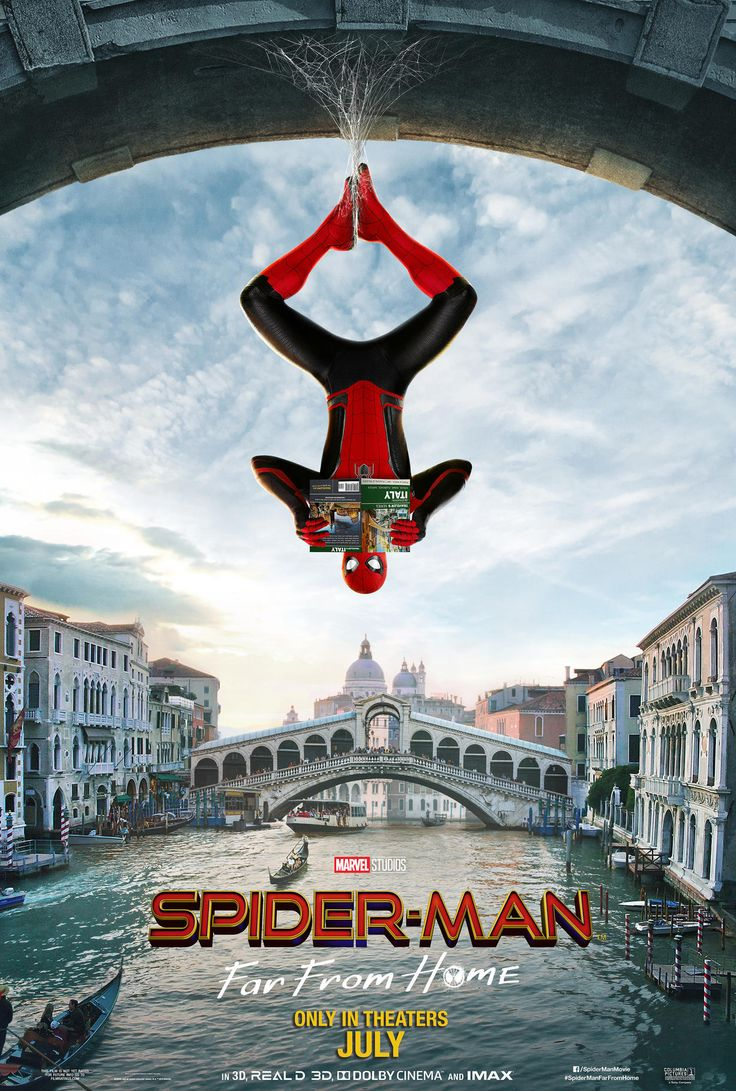 Spidey Swings Around Europe in New International Posters for 'Spider-Man: Far From Home'