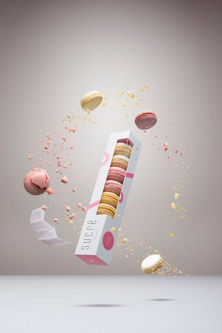 Les macarons en packaging : raffinement, succulence et jouissance !   http://blog.shanegraphique.com/packaging-macaron/
