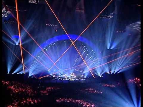 """Pink Floyd - Wish You Were Here (Live)  Amazing version.  When the crowd belts out """"How I wish, how I wish you were here"""", I get chills"""