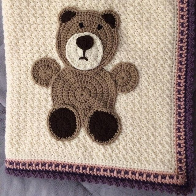 Trending Crochet Squares Teddy Bears And More From