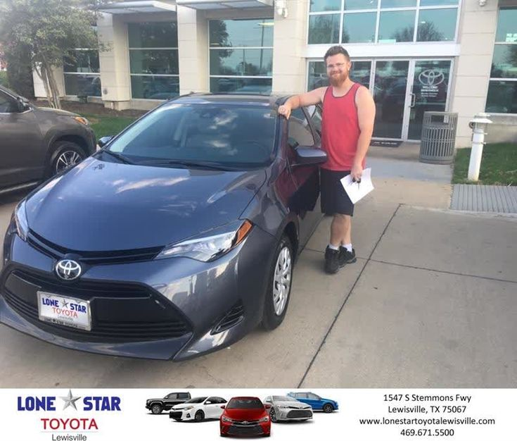 """Lone Star Toyota of Lewisville Customer Review  Chris Richardson at Lone Star Toyota Lewisville was awesome ! I love my new Corolla ! I was very pleased with his service and attention to detail . I highly recommend """"Chris Rich"""" !!!   Zack, https://deliverymaxx.com/DealerReviews.aspx?DealerCode=E208&ReviewId=57393  #Review #DeliveryMAXX #LoneStarToyotaofLewisville"""