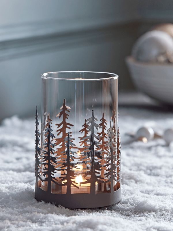 midwinter forest tealight holder cox cox j o l l i. Black Bedroom Furniture Sets. Home Design Ideas