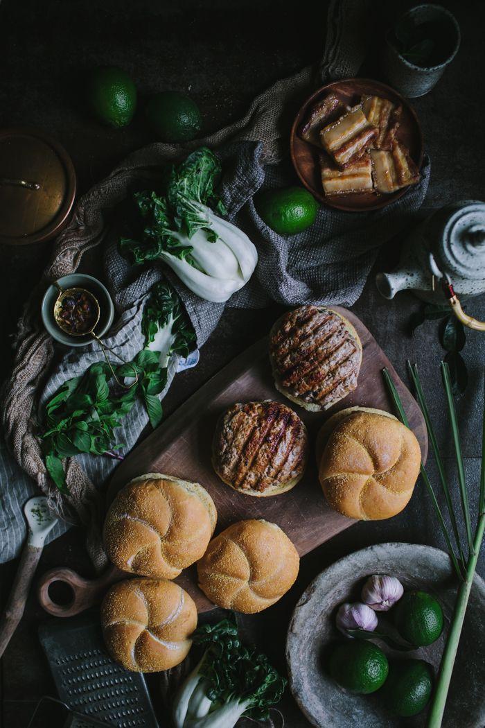 Thai-Style Pork Belly Burgers by Eva Kosmas Flores   Adventures in Cooking
