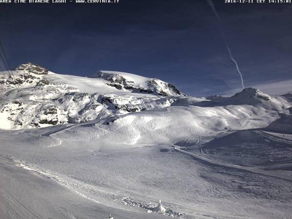 Breuil Cervinia webcam Cime Bianche Laghi Ski Area Skiweather.eu