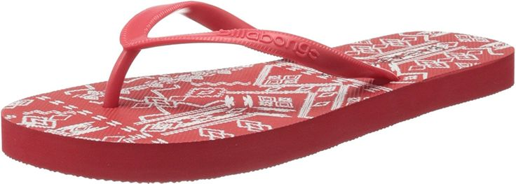 Billabong - Billabong Women's Flip Flops - Dama ** Trust me, this is great! Click the image. at Sandals board