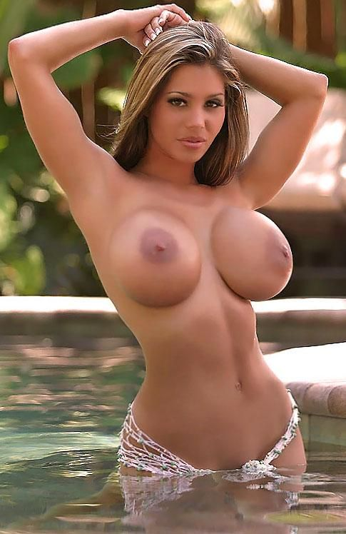 Sexy women with large boobs