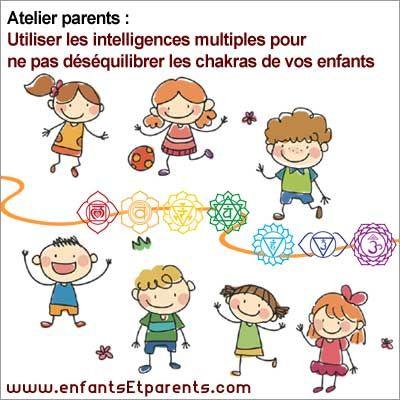 ateliers chakras intelligences multiples des enfants