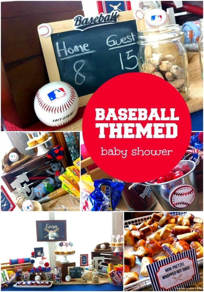 Baseball Themed Boy Baby Shower Ideas
