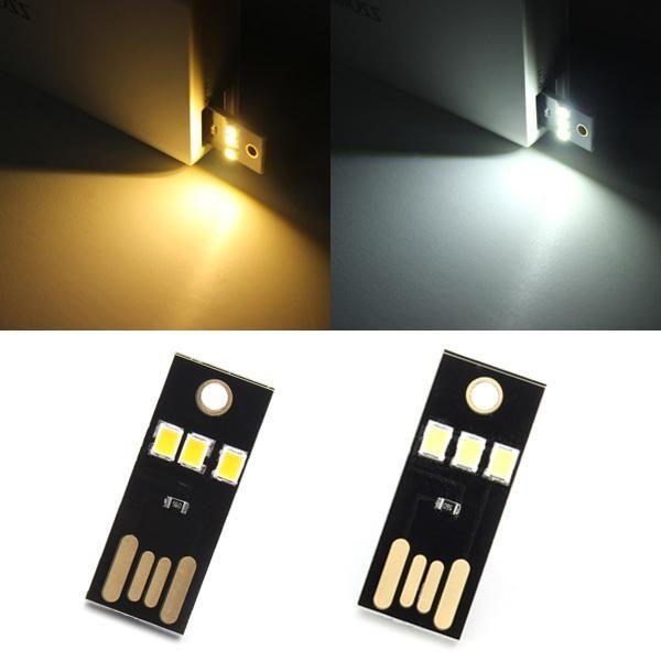 Wallmart.win 0.2W White/Warm White Mini USB Mobile Power Camping LED Light Lamp: Vendor: BG-US-Light-and-Lighting Type: LED Strip Price:…