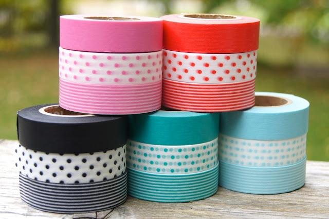 decorated tapes: Mt Washi, Crafty Stuff, Decorated Tapes, Tape Triplets, Washi Tape, Craft Ideas