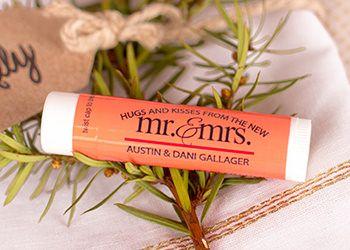 Custom Wedding Lip Balm