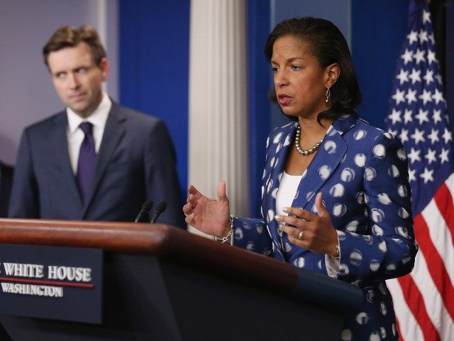 Susan Rice admits to secret side deals with Iran (Chip Somodevilla / Getty)