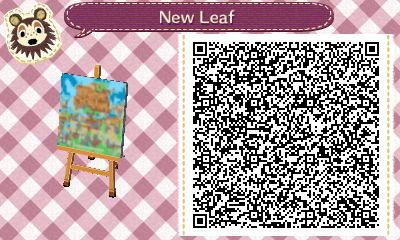 Animal Crossing New Leaf QR Codes - General Patterns