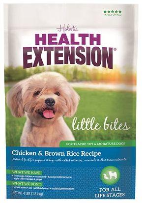 Holistic Dog Health Extension Little Bites Dry Dog Food 4 lbs