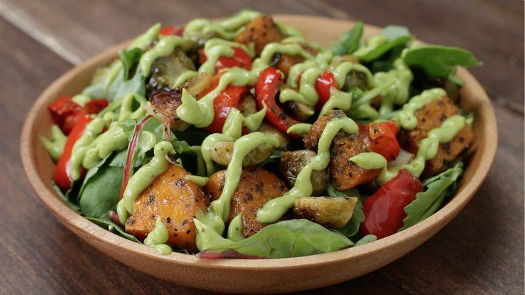 tasty dinner Roasted Veggie Salad