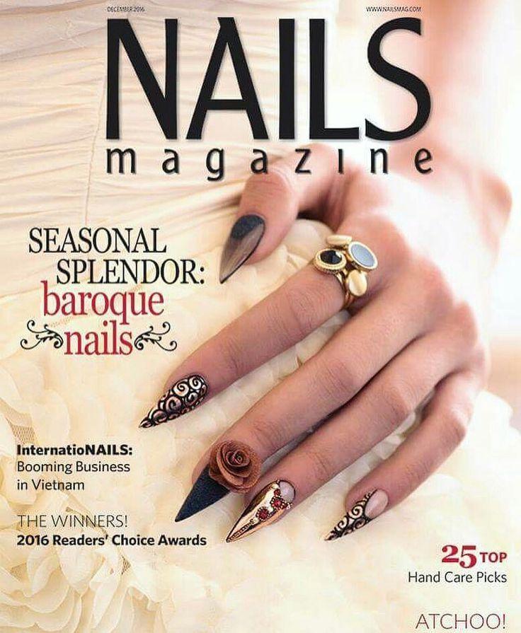 20 best NAILS MAGAZINE images on Pinterest   Nails magazine, Books ...