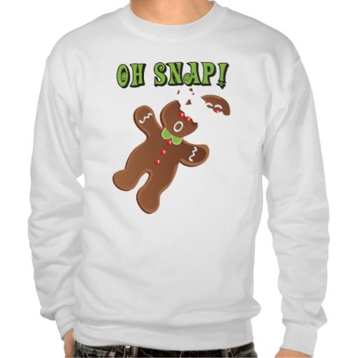 Oh Snap Cookie Christmas Ugly Christmas Sweater Holiday