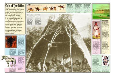 Sacagawea Kids Discover Unit Studies Pinterest
