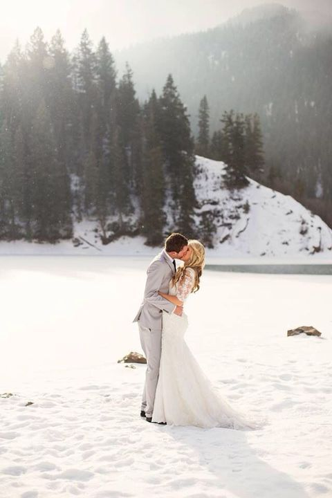 67 Adventurous Mountain Wedding Ideas | HappyWedd.com
