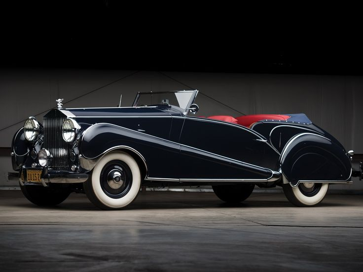 1947 Rolls-Royce Silver Wraith Drophead Coupe by Inskip  chassis number WZB36