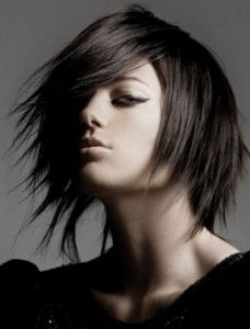 layered punk hair styles