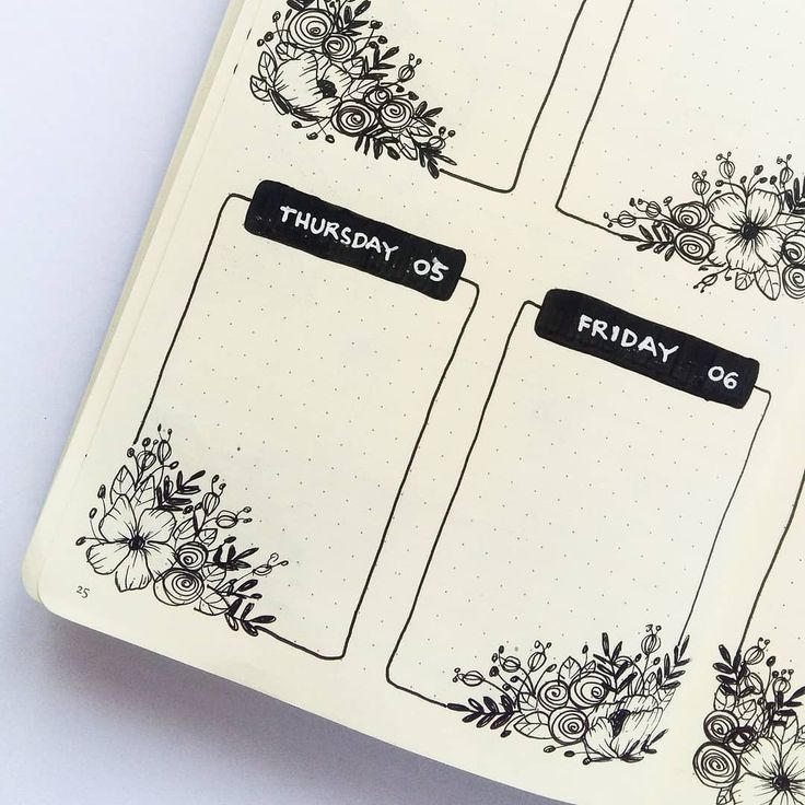 15 Absolutely Gorgeous-Looking Weekly Layout Bullet Journal Ideas