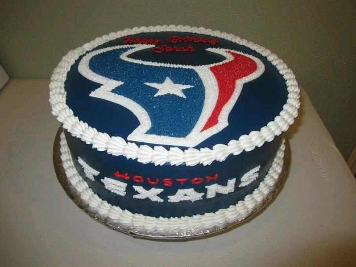Texans Cake