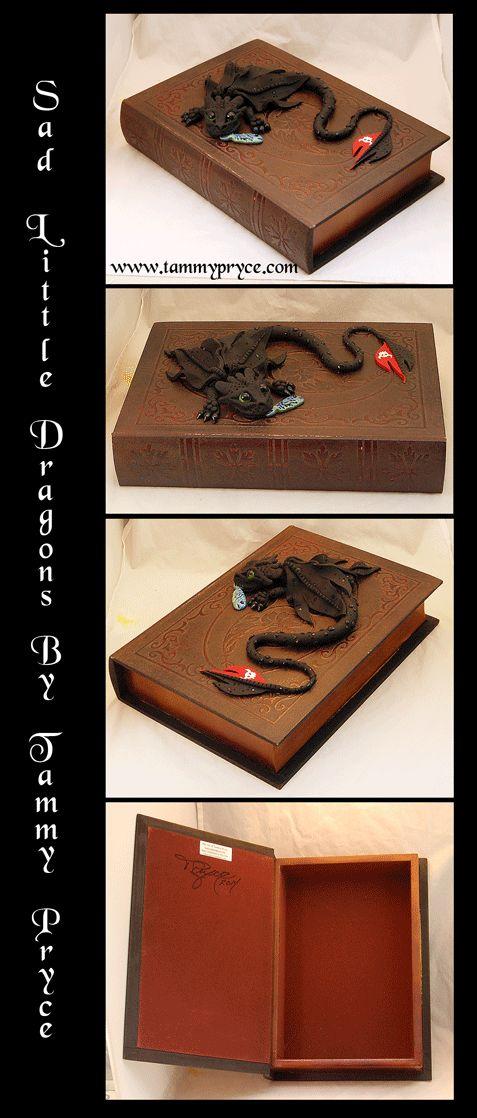 Ooak Polymer Clay Toothless Dragon Sculpture on by TammyPryce, $75.00 #dragons #fantasyart #polymerclay #sculpture