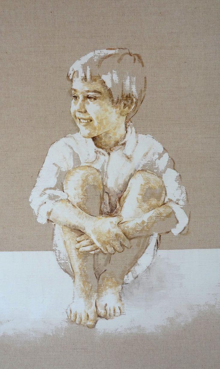 niño retrato 80 x 60 -                                                                M. Isabel Barros Alcalde