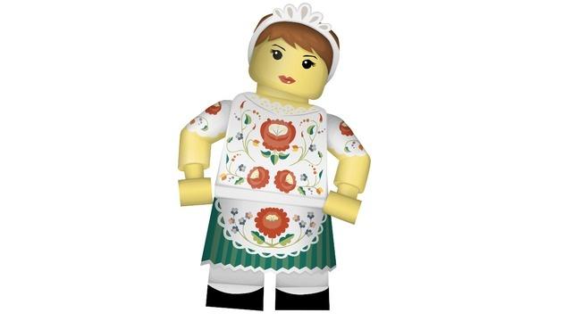 Borcsa, the Hungarian girl from Kalocsa.
