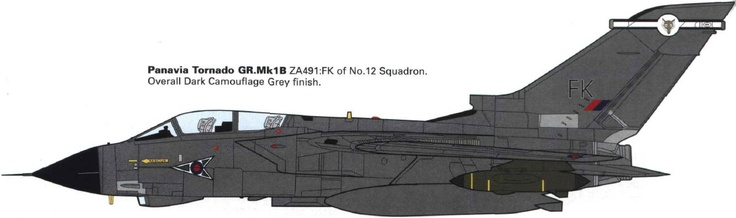 ZA491 Panavia Tornado GR 1B, 12 Sqn. © Iain Ogilvie