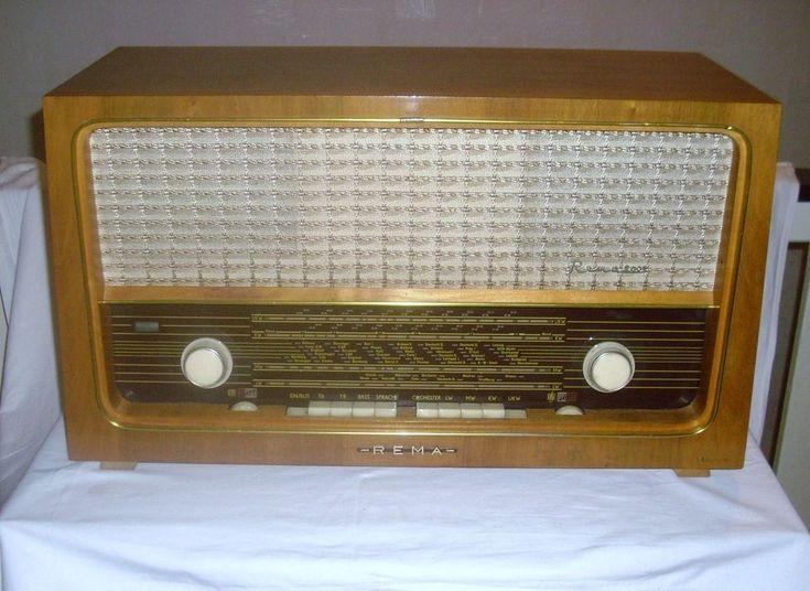 #REMA 2001 #Radio #Röhrenradio 1963 #Stollberg #RFT #DDR #EL84 #Spielt schönes #Gerät