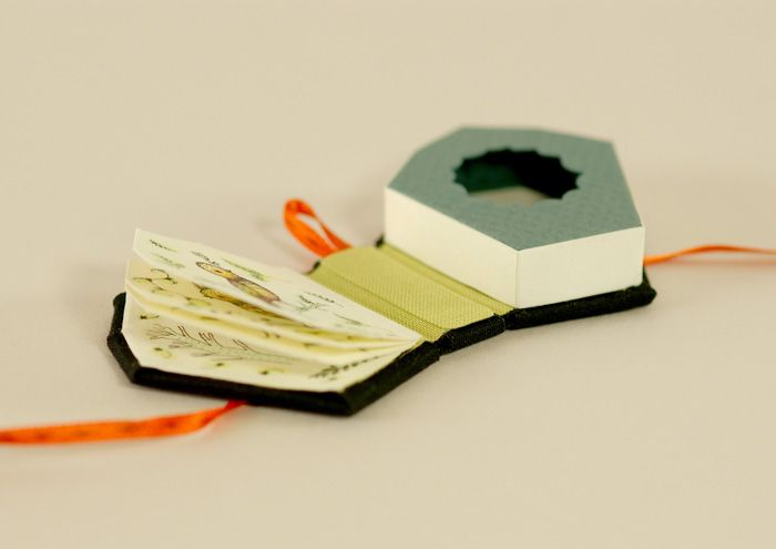 Birdhouse for Things that Have Gone Away.: Birdhouse, Artist Books, Artist'S Book, Bookbinding Miniature