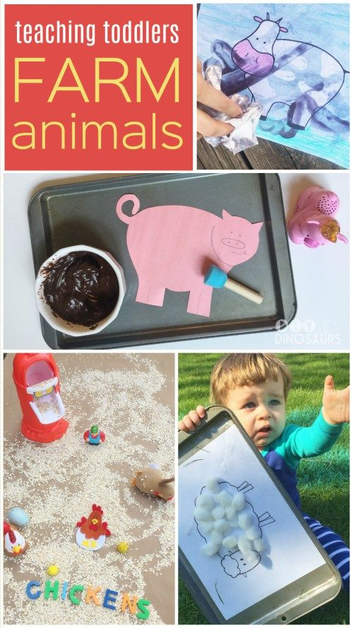 If you're anything like me you've noticed that when your kids become interested in something, they're all in. Well right now we are on quite the animal kick! This week, we took our teaching toddlers lesson to the farm with lots of sensory activities, crafts, art projects, and more! Join us!