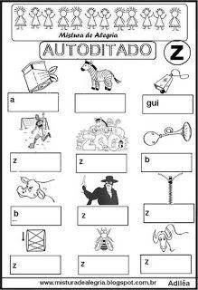 Autoditado da letra Z