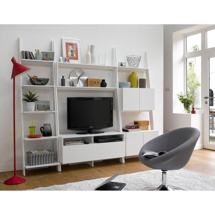cadeir o redondo rotativo design janik la redoute. Black Bedroom Furniture Sets. Home Design Ideas