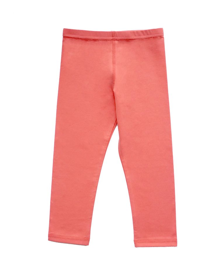 Forever Free Cropped Jersey Leggings with inner flat-locked seams for comfort | Girls Summer Collection | www.peekaboobeans.com