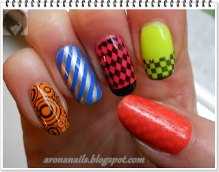 Funny Nails: Projekt Trendy - geometria