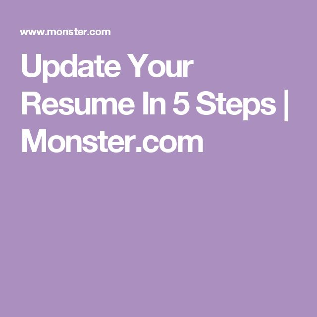353 best resume interviews images on pinterest resume tips updating your resume