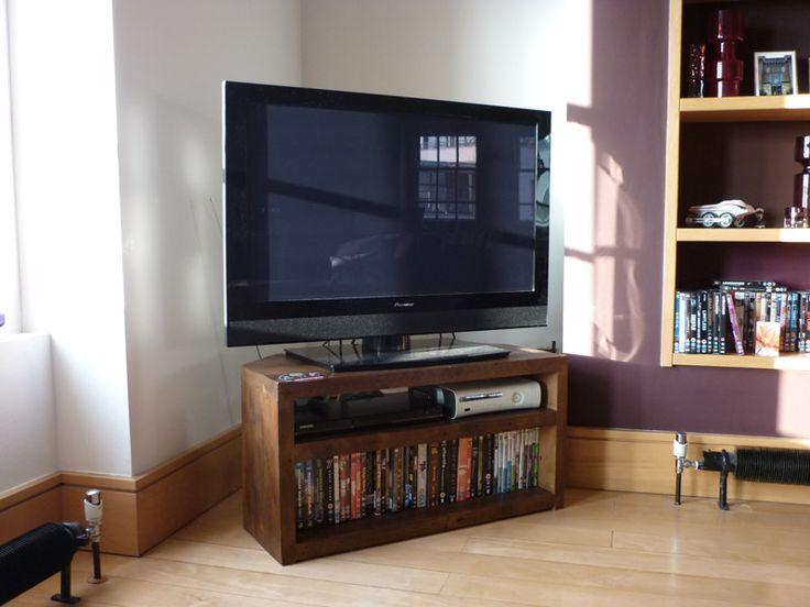 Double Corner TV Stands