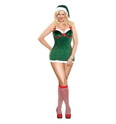 magic silk santa39s helper greenbr br disfruta de tus mejores momentos navideños con este bonito conjunto que te convertirá en la ayudante de santa claus más provocativa de estas fechas el conjunto incluye vestido tanga y gorro a juego de l