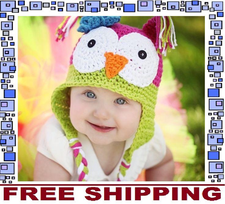 Owl Kids Baby Beanie Hat