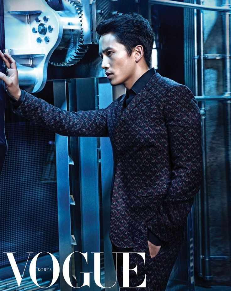 Ji Sung - Vogue Magazine July Issue '14