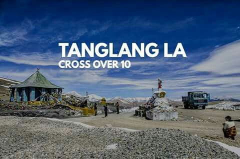 Taglang La, elevation 5,328 metres, is a high mountain pass in Ladakh region of the Indian state of Jammu and Kashmir.