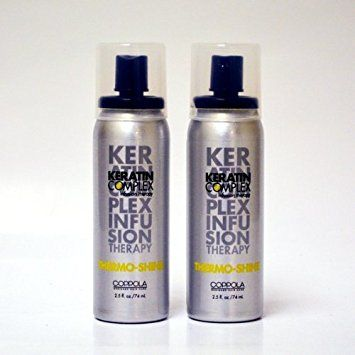 Keratin Complex Thermo-Shine 2.5oz (Pack of 2) Review