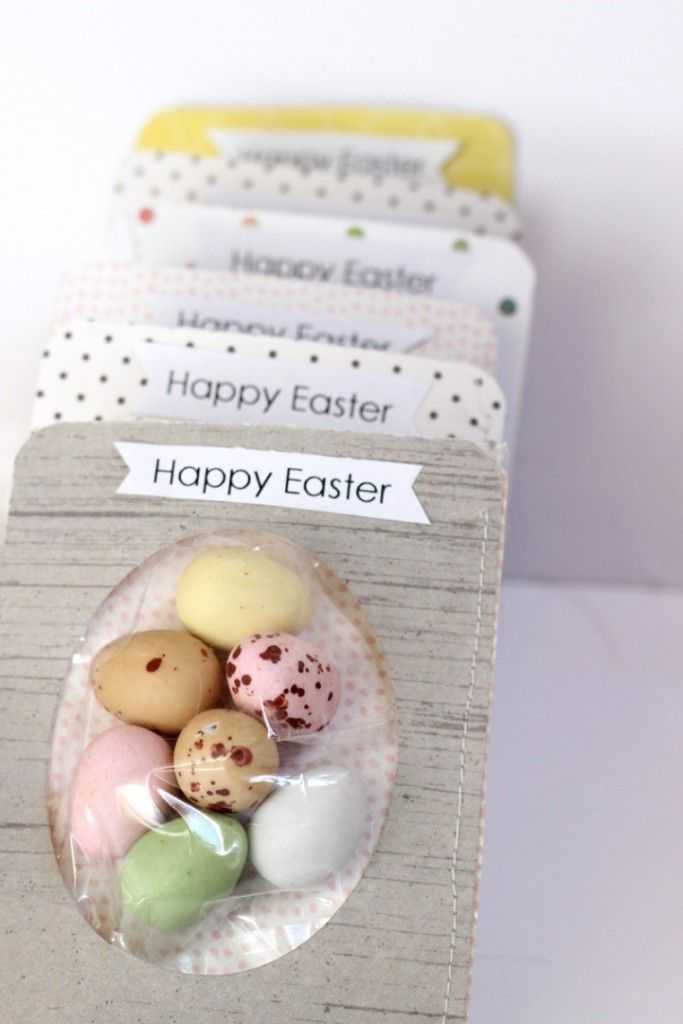 Easter Crafting with The Jot Girls - egg tags with Mardi Winen. A quick and easy project.
